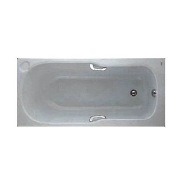 Studio Drop-In Tub with Handgrip