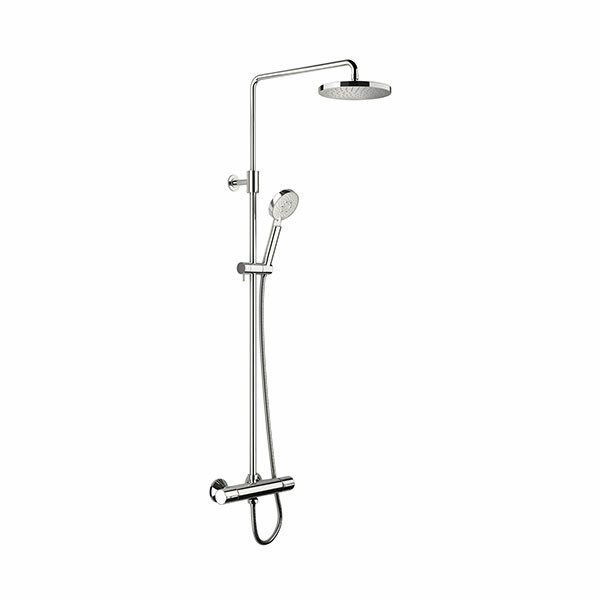 Active Thermostatic Rain Shower System
