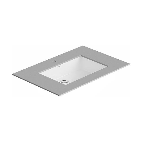 Flexio Thin Touch Square 600mm Undercounter Wash Basin