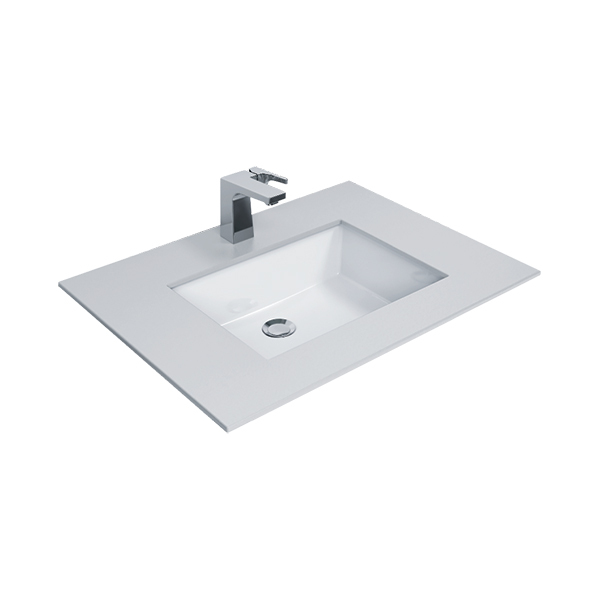 Flexio Thin Touch Square 500mm Undercounter Wash Basin