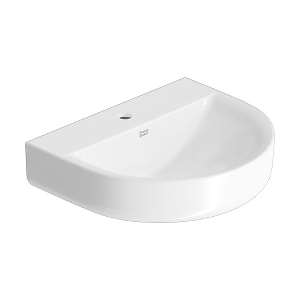 Concept D Shape Wall Hung Wash Basin