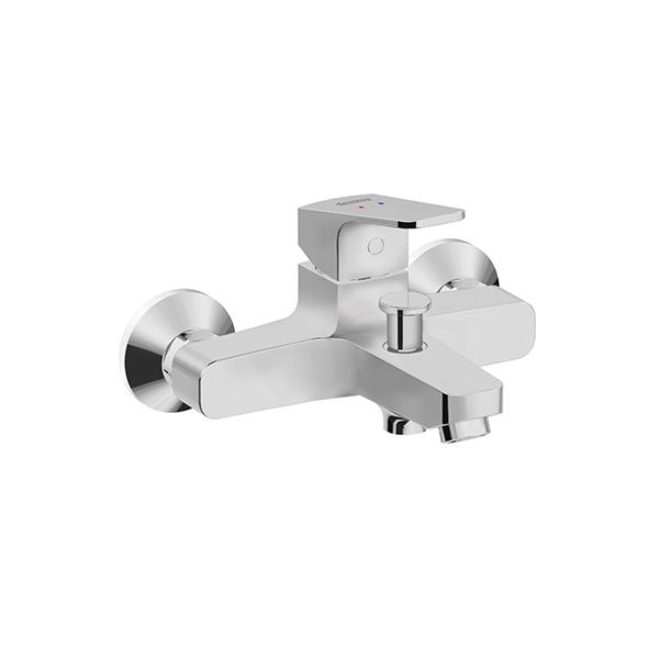 Concept Square Exposed Bath & Shower Mixer