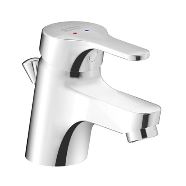 Concept Round Basin Mixer With Pop-up Drain
