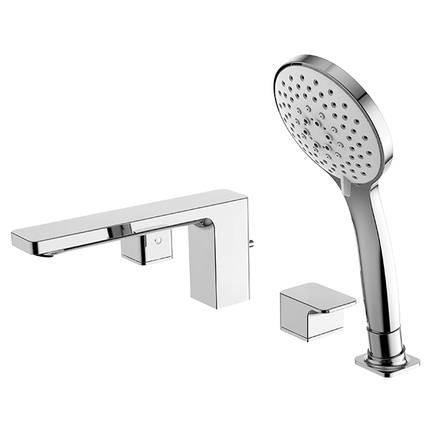 Acacia Evolution Deck Mount Bath Shower Mixer with Shower Kit image