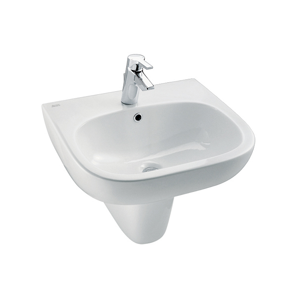 Active Lavatory with Semi Ped set WT