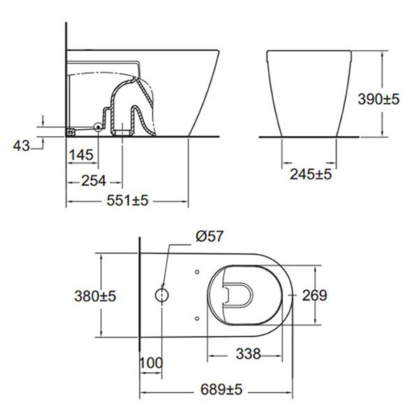 CL22255 6 DACTPT 2225 SC WT 0