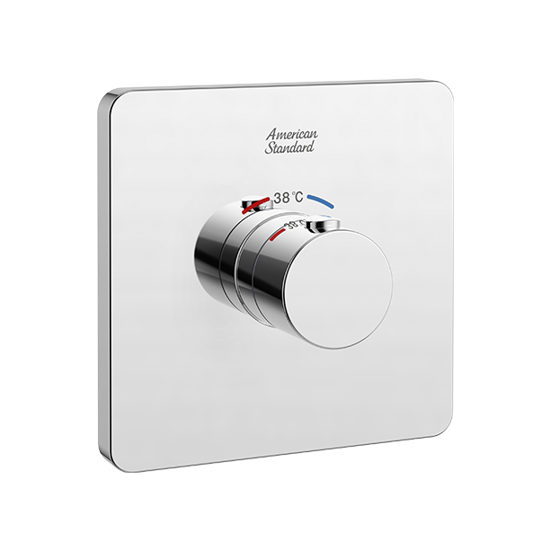 Concealed Thermostatic Mixer with Trim 1