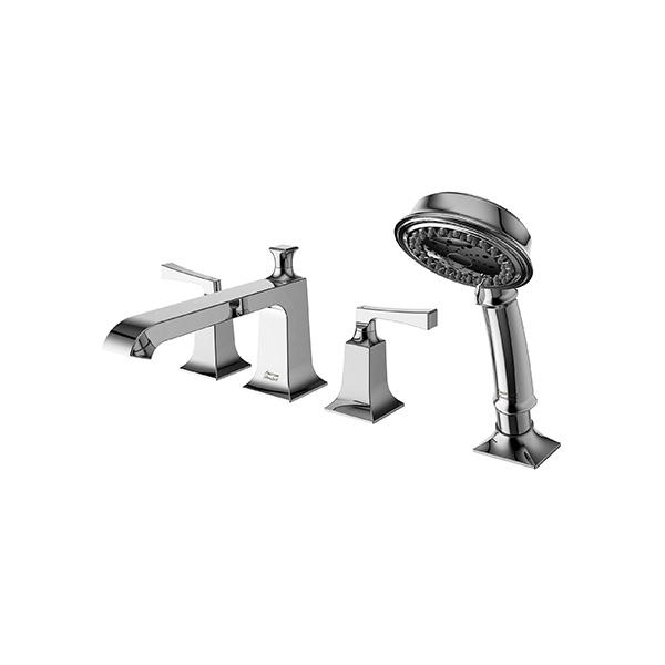 KASTELLO Deck Mount Bath & Shower Mixer with Shower Kit