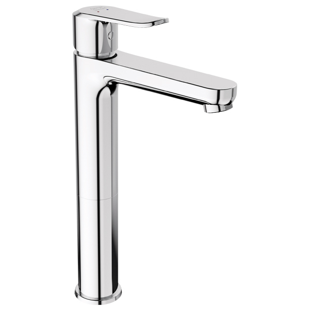 Neo Modern Extended Basin Mixer with Pop-up Drain