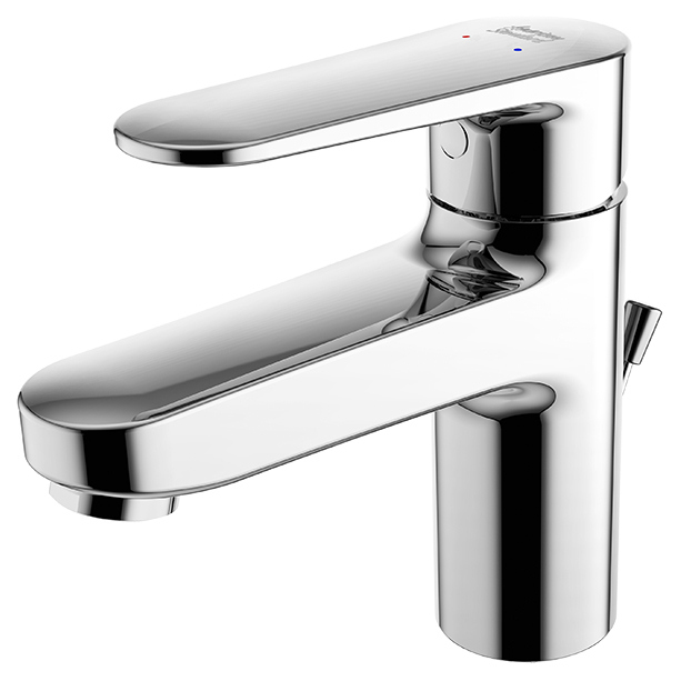 Codie basin mixer with stop valve & Pop-up Drain