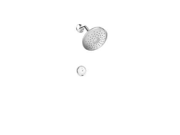 หัวฝักบัวอาบน้ำ 4 ระดับ พร้อมเทคโนโลยีสัมผัส (Touch) รุ่น สเปคตร้า อี ทัช ควบคุมด้วยรีโมทคอนโทรล
