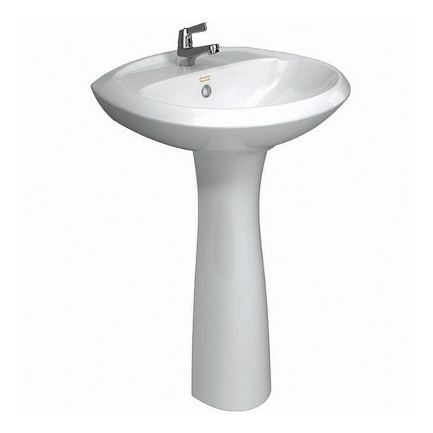 Winston II Full Pedestal Wash Basin
