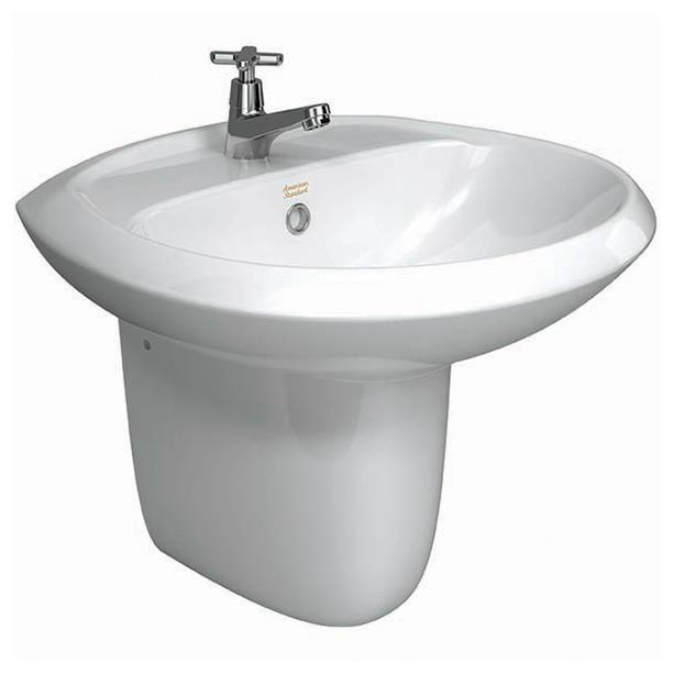 Winston II Semi Pedestal Wash Basin image