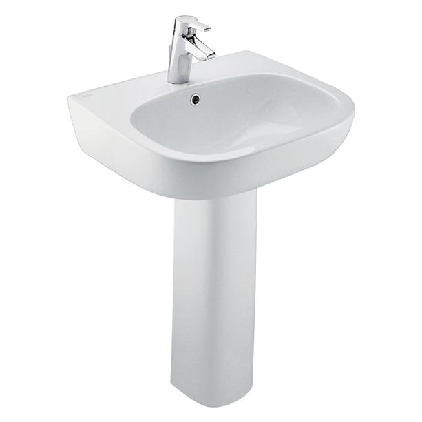 Active Full Pedestal 535mm Wash Basin