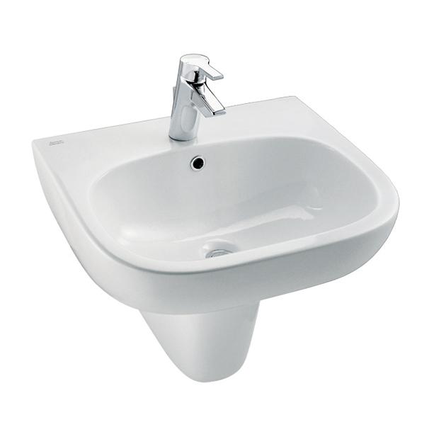 Active Semi Pedestal 535mm Wash Basin