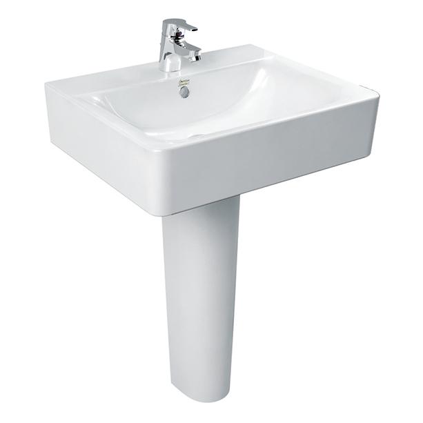 Concept Square Full Pedestal 550mm Wash Basin