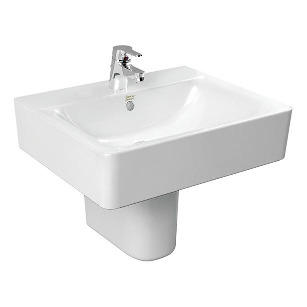 Concept Square Semi Pedestal 550mm Wash Basin