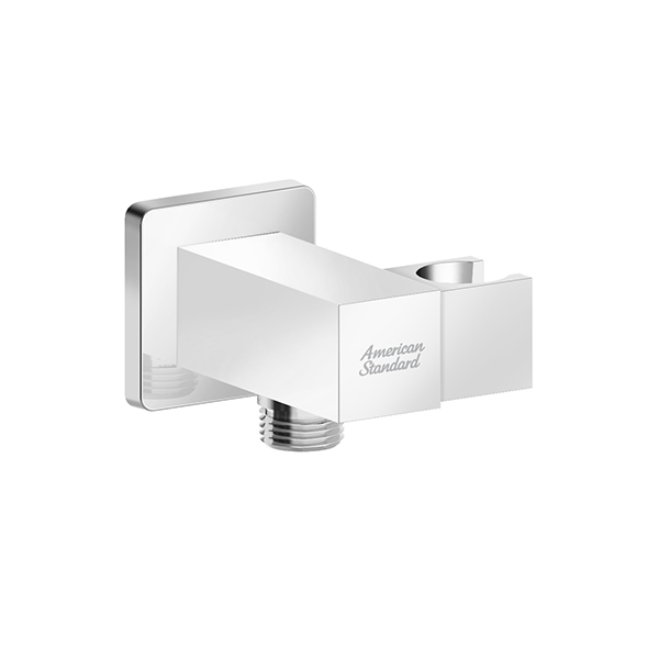 """Wall Outlet with Holder - Square (G1/2"""")"""