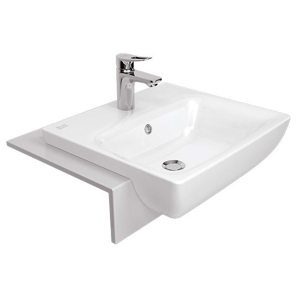 Milano 500mm Semi Counter Wash Basin image