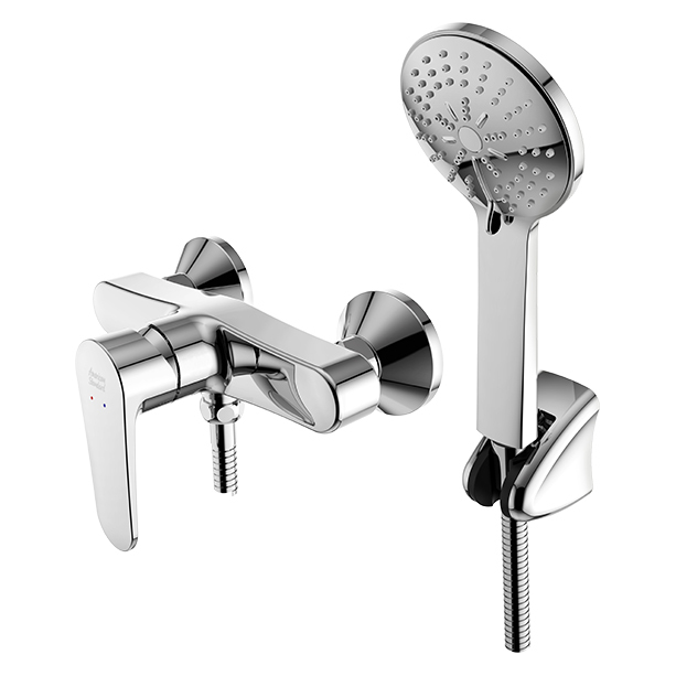 Simplica Exposed Shower Mixer with Shower Kit