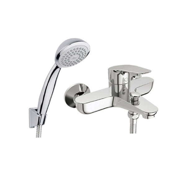 Cygnet exposed shower faucet