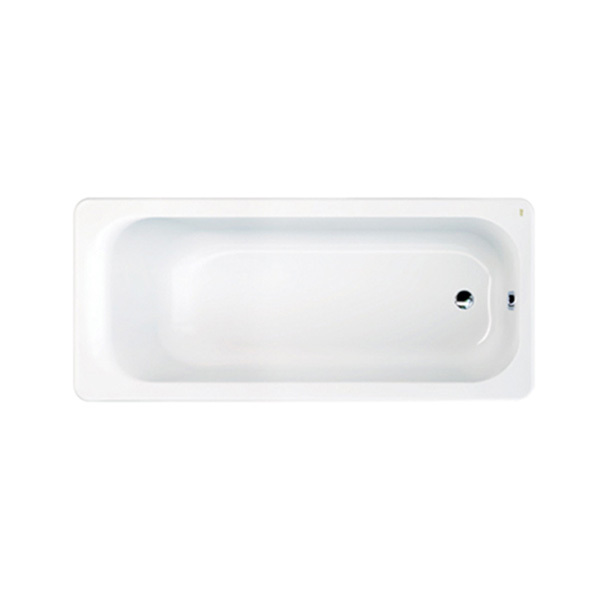 Active tub with pop-up waste & overflow