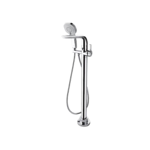 Melange Floor Standing Bath Filler Single Lever Mixer