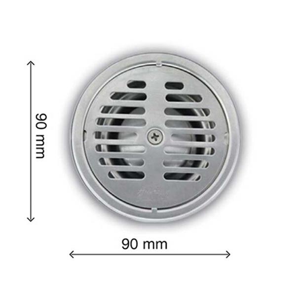 Floor Drain 4 Round Stainless Steel