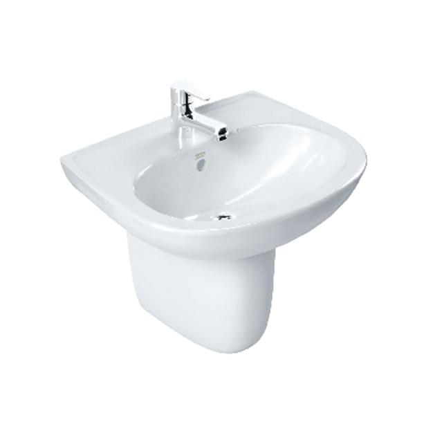 Codie Semi Pedestal Wash Basin