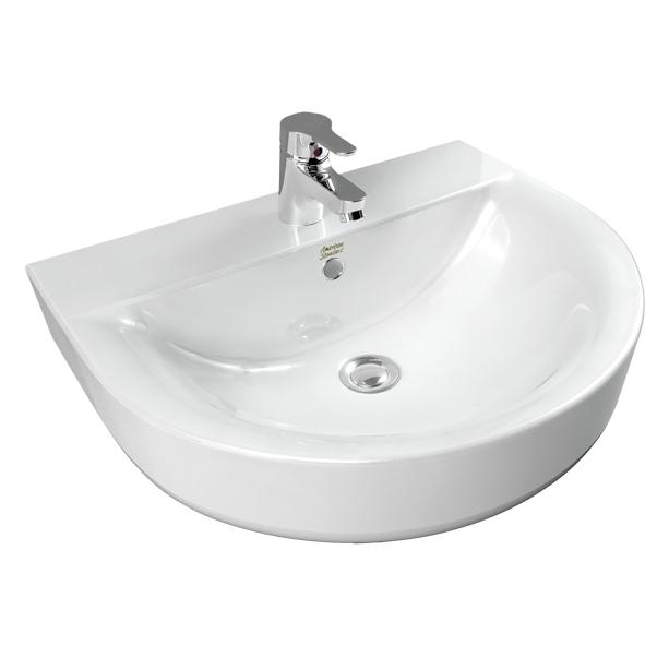 Concept D shape 550mm Wall Hung Wash Basin image