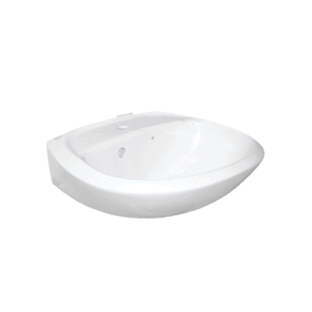 Gala Wall Hung Wash Basin (1-Hole)