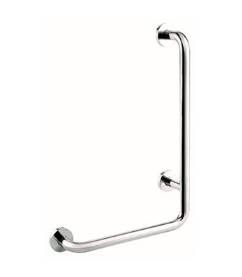 LshapeL Handrail D32 400x600mm Hairline