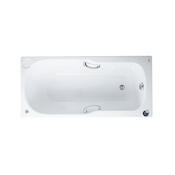 Studio BathTub With Grips And Waste WT