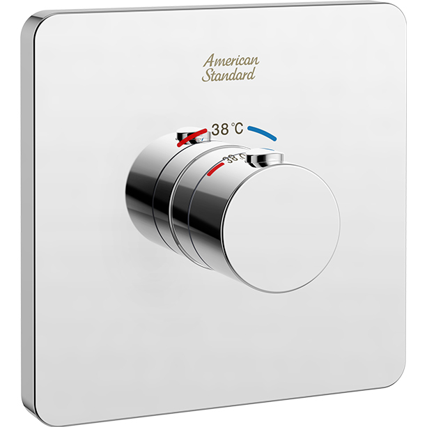 Concealed Thermostatic Mixer with Trim