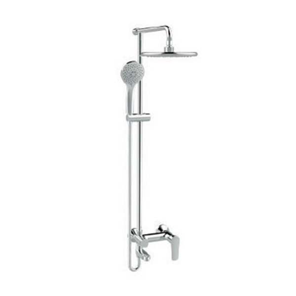 Simplica Exposed Bath & Shower Mixer with Shower Kit