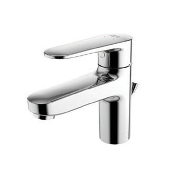 Codie basin mixer with pop up drain