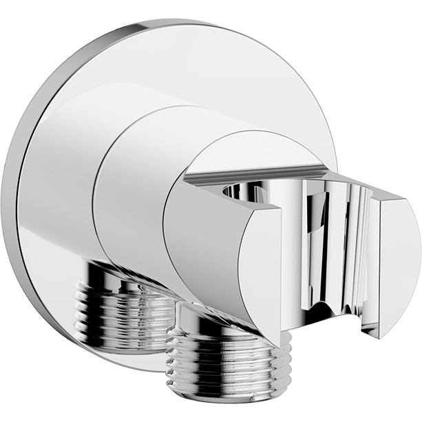 Wall Outlet with Holder- Round (G1_2)